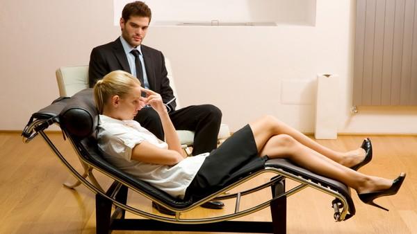 бесседа с психотерапевтом