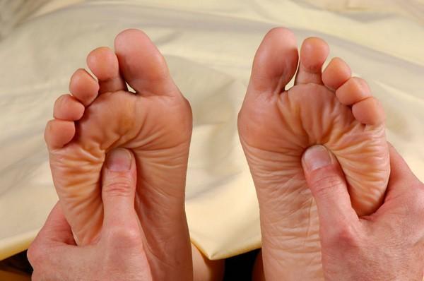 чувствительность ног
