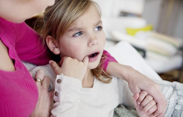 девочка после приступа