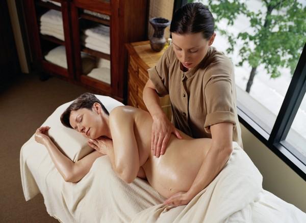 массаж беременной женщины