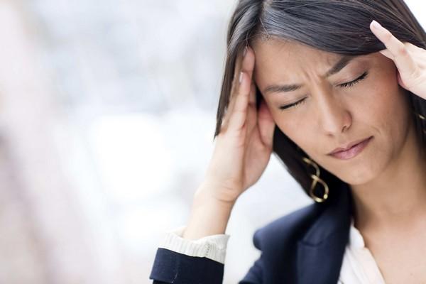 стрессированная женщина