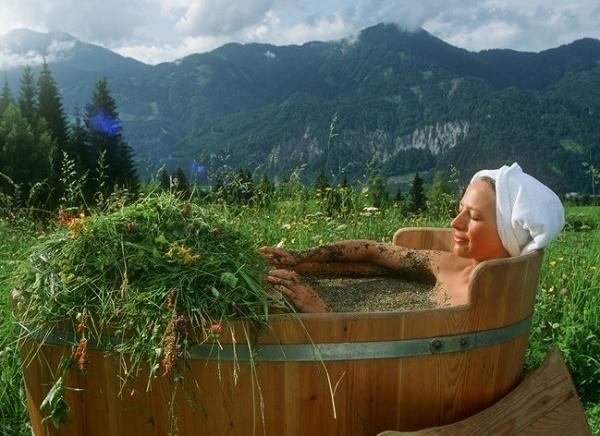 травянная ванна