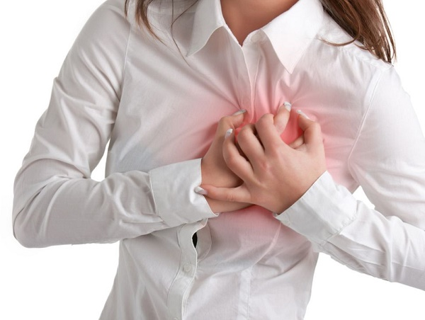 защемление нерва в груди
