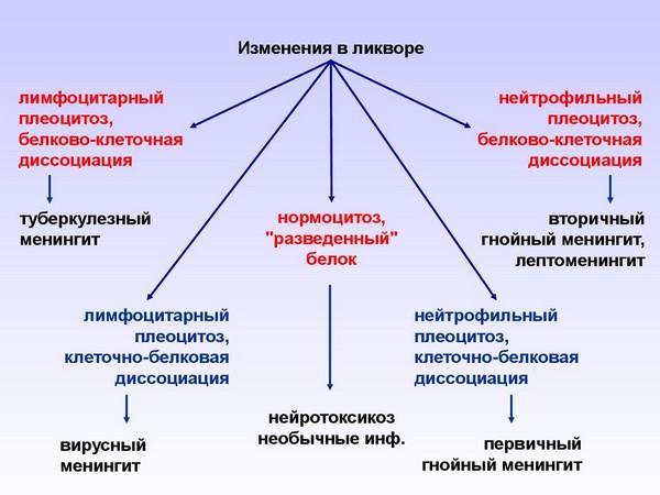 этиология менингита