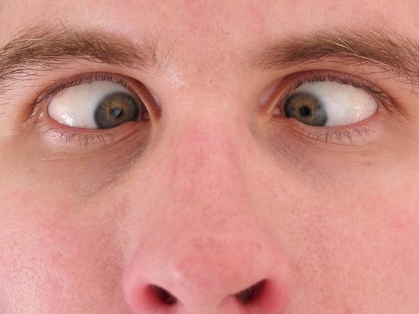 глаза в кучу