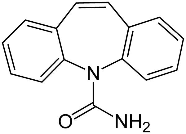 химическая формула Карбамазепина