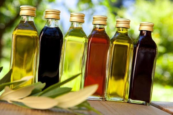масла растительного происхождения