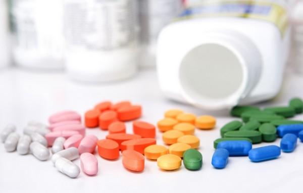 разноцветные таблекти